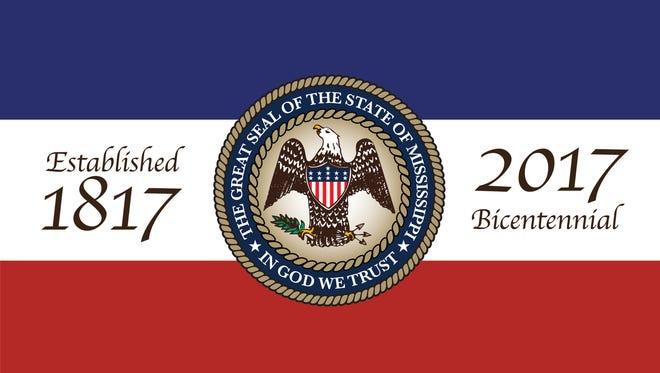 Celebrations of Mississippi's Bicentennial begin in February.