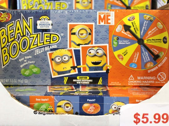 Bean Boozled is a candy-eating game and Sweeties Candy