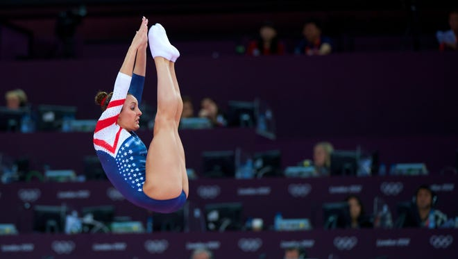 Savannah Vinsant Thompson competed in the 2012 Olympic in trampoline.