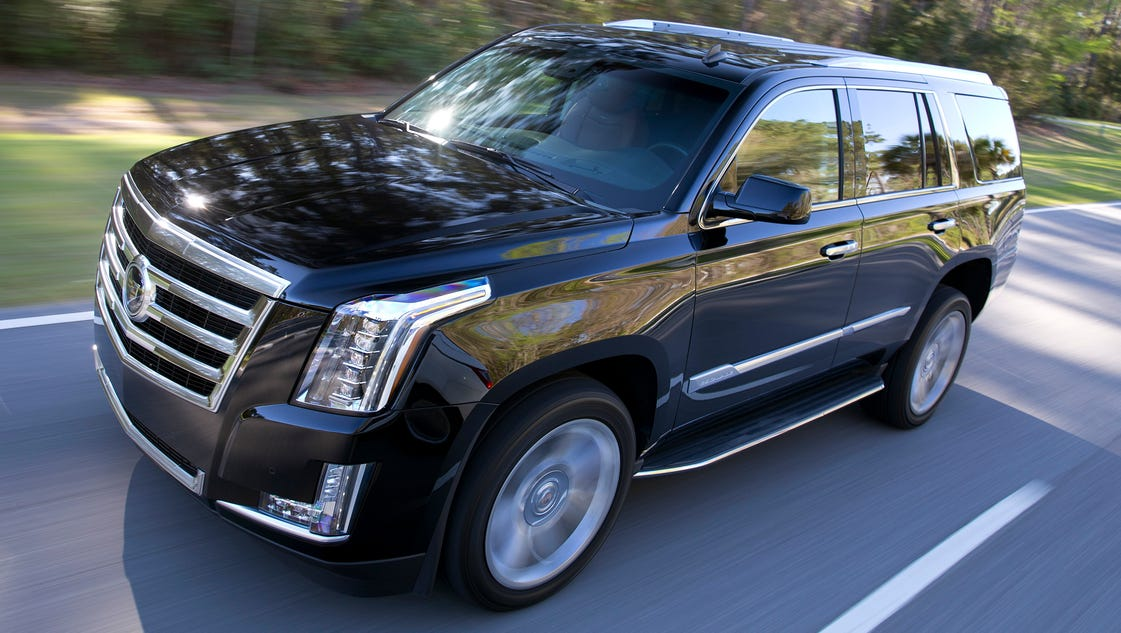 cadillac buries escalade suv 39 s celebrity past. Black Bedroom Furniture Sets. Home Design Ideas