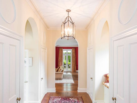 gorgeously decorated with clean lines, white paint and hardwood floors ...