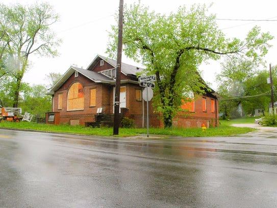 This brick building was built for a Quaker congregation.