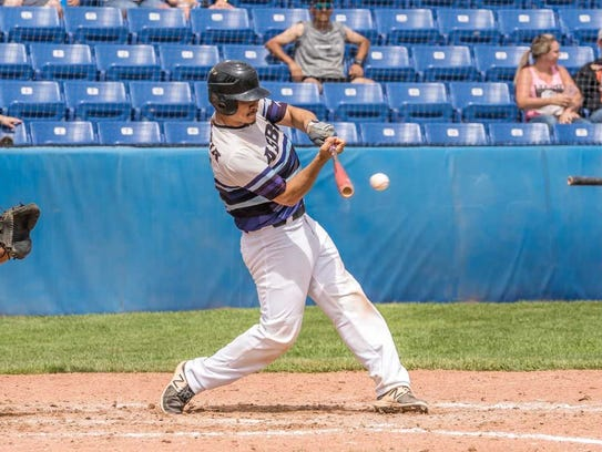 All-Star Baseball Academy's David Avitia hits a two-RBI