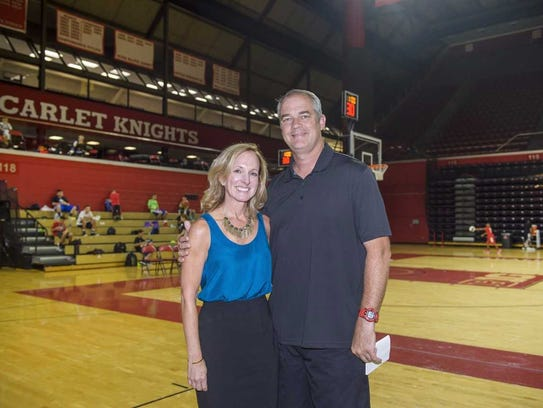 RWJBarnabas Health's Jen Stein and Rutgers men's basketball