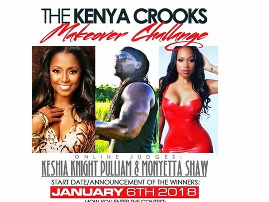 Kenya Crooks, a Seneca native and Clemson University receiver from 1994-96, is seeking participants for his international New Year's Makeover weight loss challenge.