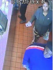 Glendale police want to identify these two women captured on video surveillance footage from McDonald's, 5344 N. Port Washington Road, at 10:49 a.m. Sunday, March 18. The woman in the front allegedly pushed a 17-year-old female employee, causing her to hit her head on a fryer.