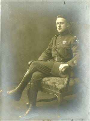 Henry Nabbefeld of Appleton was a Marine who helped the French army on the Western Front during World War I.
