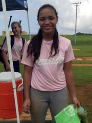 Sirena Cepeda picked up Strike Zone Player of the Game going 2-for-4 with two runs and four RBI to lead the CrossFit offense in GirlÕs FastPitch Fall Ball action Oct. 25.