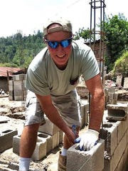 Randy Tinker is a brick mason by trade.