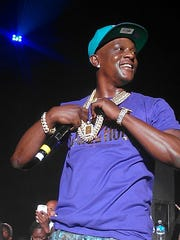 Rapper Lil Boosie performs Friday night at Minglewood Hall.