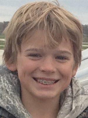 Wyatt Ziemer, then 12, speared his first sturgeon in his first try in 2014.