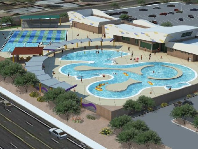 Mesa aquatic complex - West mesa high school swimming pool ...