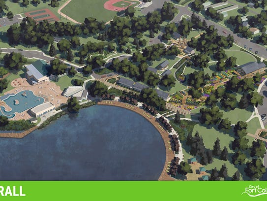A rendering shows the overall design for proposed changes