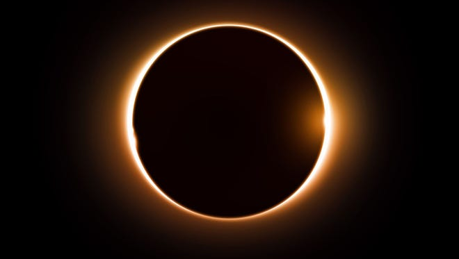 A solar eclipse is shown in this file photo.