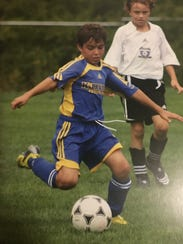 Anthony Fontana during his Kirkwood Soccer Club days.