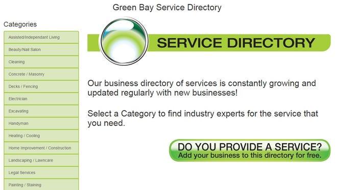 Green Bay Service Directory