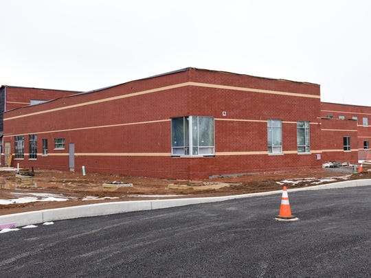 Marion Elementary School is photographed Thursday,