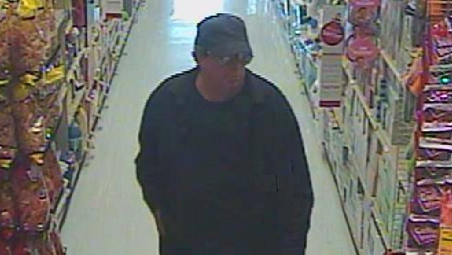 Salem Police are asking the public's help in identifying this man suspected of robbing the Center Street Safeway.