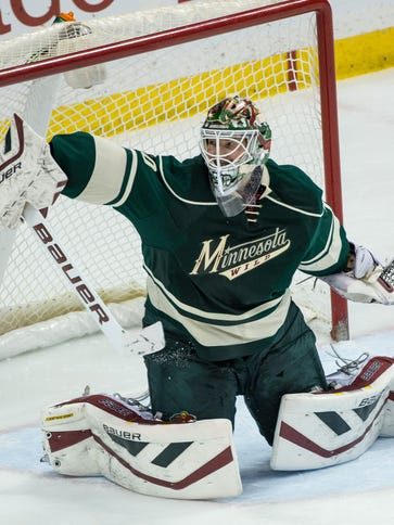 Goalie Devan Dubnyk has five shutouts in 18 games with