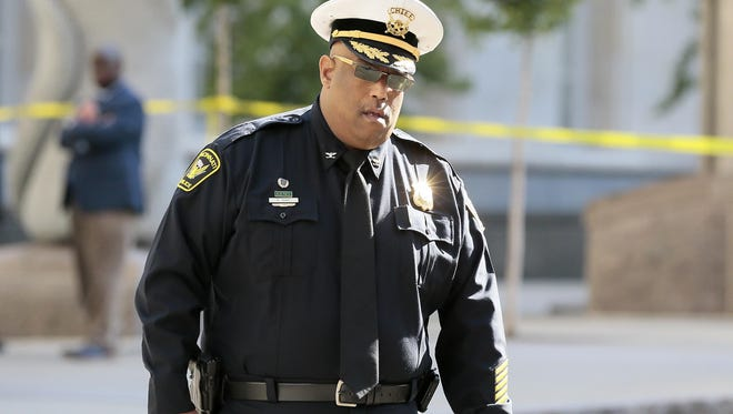 Police Chief Eliot Isaac