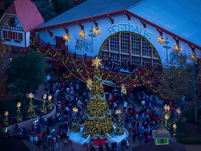 Theme Park Holiday Events 2017