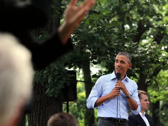 Obama Minnesota