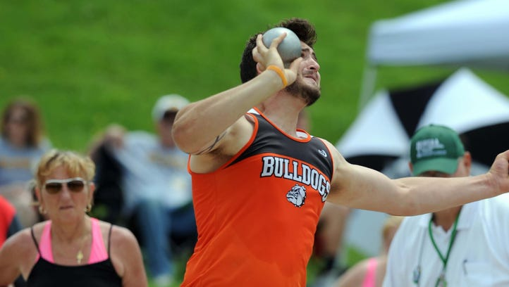 Heath's Weekly, Wilhelm throwing party at state track meet