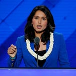 Tulsi Gabbard, a surrogate for Bernie Sanders, to vote for Hillary Clinton