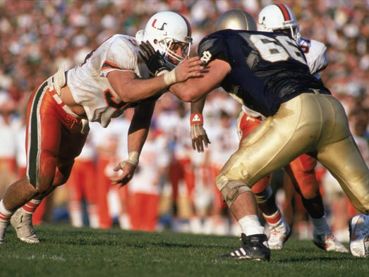 University Of Miami Convicts >> 'Catholics vs. Convicts': Reliving 1988 brawl, Notre Dame upset of Miami