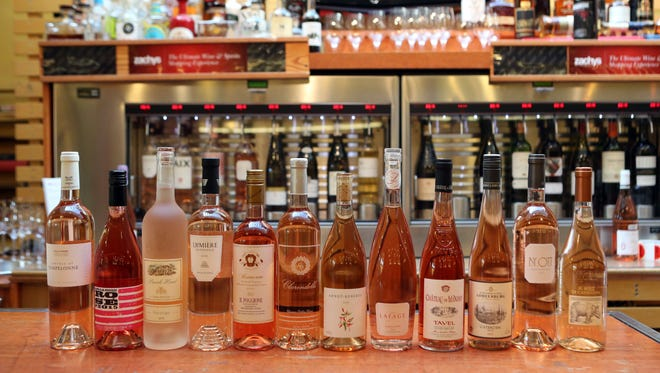 The lohud summer rosŽ mixed case chosen by Zachys Wine & Liquor in Scarsdale, May 25, 2016.