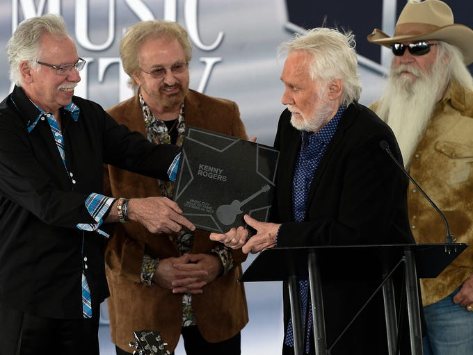 Joe Bonsall, Duane Allen and William Lee Golden of
