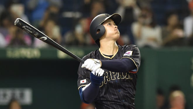 Japan's Shohei Ohtani was put up for bid Friday by the Pacific League's Nippon Ham Fighters for the maximum $20 million posting fee.