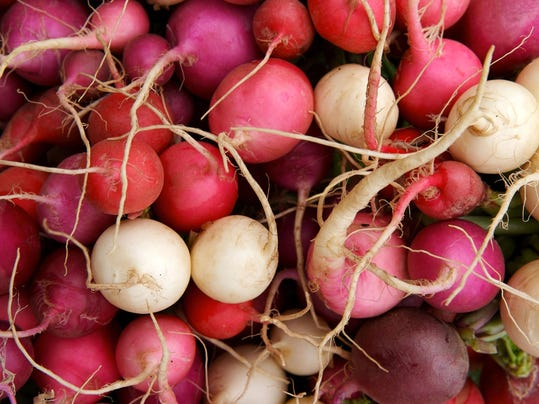 Hot radishes make our mouths water for more