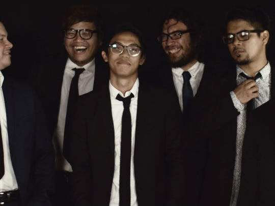 The new band, Fat Tofu, has just released their extended play, Sun., July 3 with four originals. Left to right, in the front, Bryan Badua, Jordan Hardy, RJ Aguon and Doug Chan. Left to right in the back, Tim Dominguez and Jeremy Bevacqua.