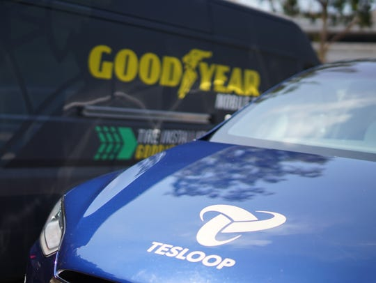 The Goodyear and Tesloop trial of a smart tire is focused