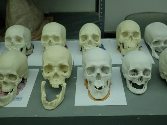 Graduate students and alumni at the New York Academy of Art worked to create forensic sculptures of unidentified people, including migrants found near the U.S.-Mexico border in Arizona.