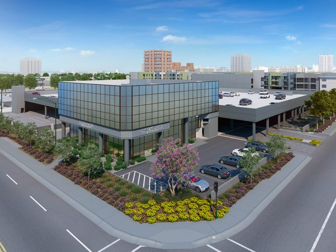 Mercedes Benz Midtown >> Apartments replace longtime central Phoenix Mercedes dealership
