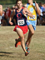 Oakland's Daniel Smith finished 12th overall as the