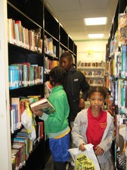 Students already were picking out new books to read