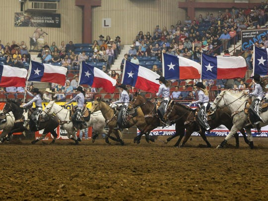 The Rodeo Ambassadors ride into Foster Communications