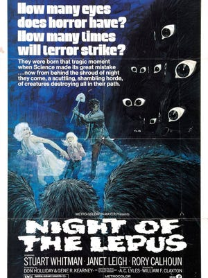 "Leapin' lizards, it's an original poster for ""Night of the Lepus""!"