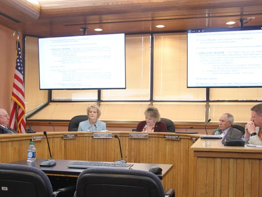 Eddy County Commission meeting