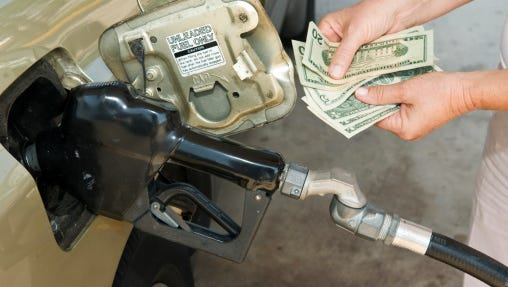 Gas prices have been running about a dollar less per gallon this year than last, and are currently around $2.39 per gallon.