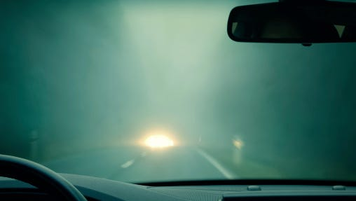 Patches of fog may create low visibility on Lansing area roadways this morning and have delayed school in one local district, officials said.
