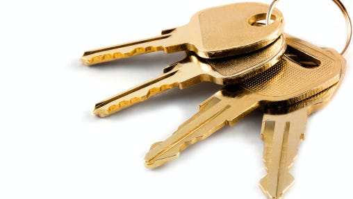 A new set of keys can mean the world.