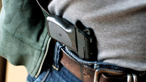 There was a jump in permits to carry a concealed weapon in South Dakota in 2015.