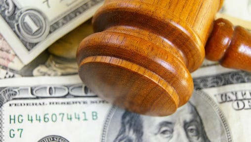 Going to court is going to cost more in New Jersey, starting in November.