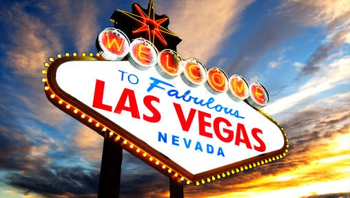 'Welcome to Fabulous Las Vegas.'