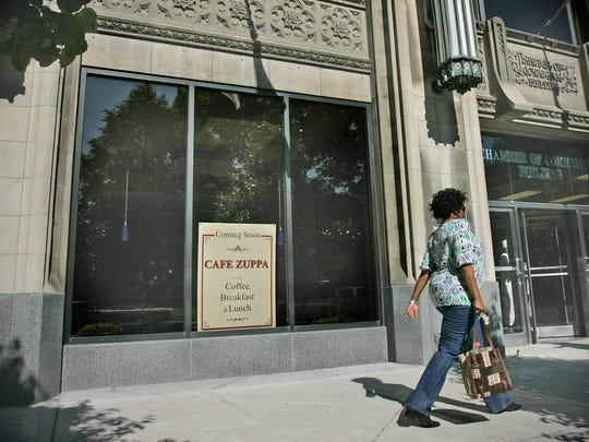 Cafe Zuppa, a Downtown breakfast and lunch eatery known for its omelets, flatbreads and chicken pot pies, has closed. It was located inside the Chamber of Commerce Building, 320 N. Meridian St. and did not have street-level access.