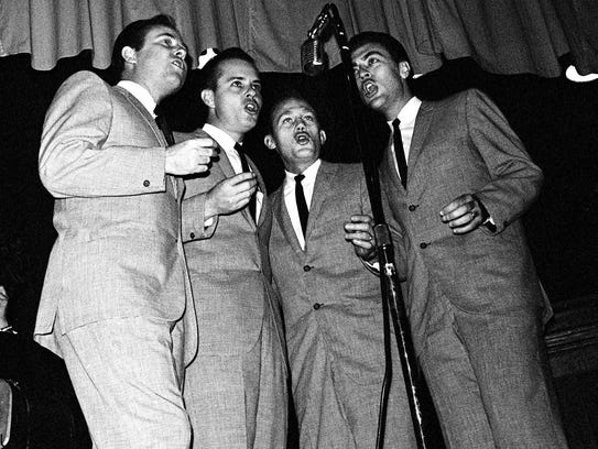 The Jordanaires quartet performs five spirituals and